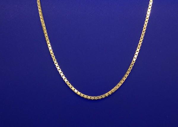 Venezianer Kettchen Silber vergoldet Länge 40 cm