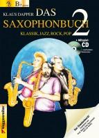 Das Saxophonbuch Klaus Dapper Band 2 Tenorsaxophon