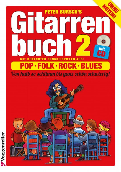 Gitarrenbuch Peter Bursch Band 2