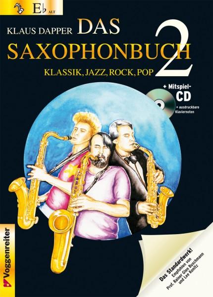 Das Saxophonbuch Klaus Dapper Band 2 Altsaxophon