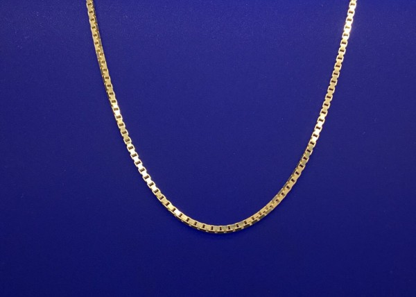 Venezianer Kettchen Silber vergoldet Länge 50 cm