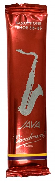 Vandoren Blätter Tenorsaxophon Java filed RED Stärk 2,5