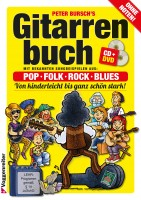 Gitarrenbuch Peter Bursch Band 1 mit CD & DVD